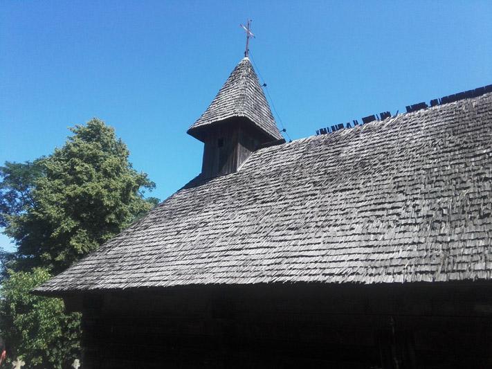 """Șinca Nouă, biserica de lemn """"Din Deal"""""""